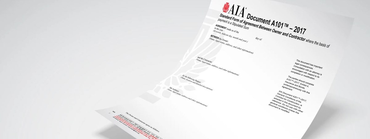 The 2017 Aia Owner Architect Agreements A Review Of The New Forms