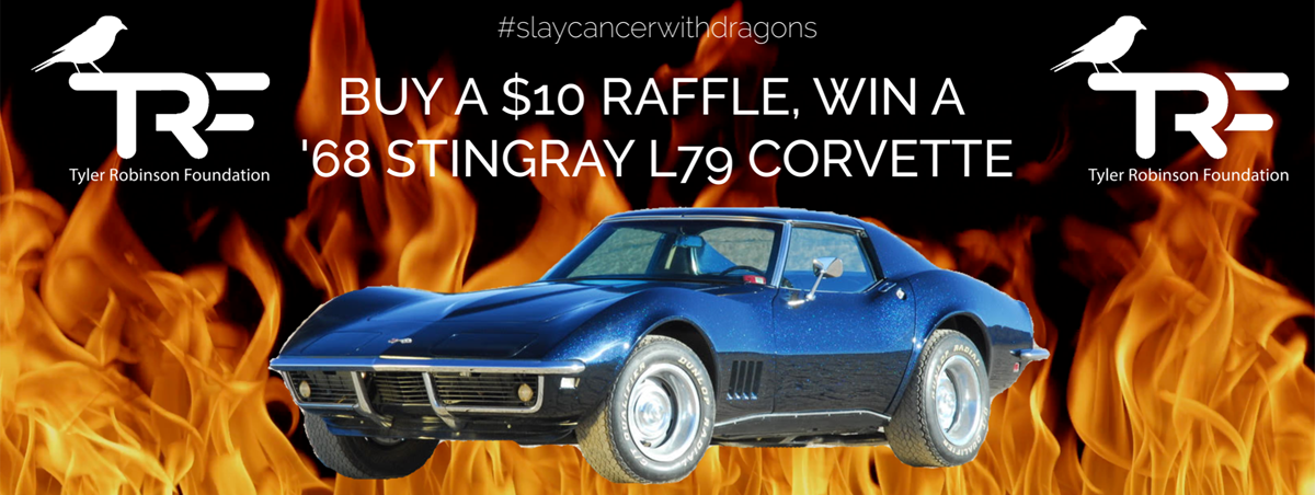 Slay Cancer With Dragons in a '68 Stingray L79 Corvette | Sparxo